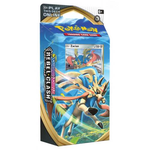 Pokémon TCG: SWSH02 Rebel Clash PCD - Cena : 410,- Kč s dph