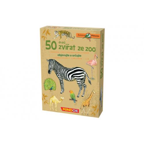 Expedice příroda: 50 druhů zvířat ze ZOO - Cena : 233,- Kč s dph