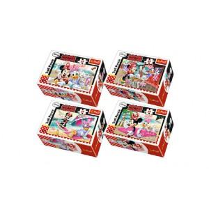 Minipuzzle Minnie & Daisy 54dílků - 4 druhy - Cena : 40,- Kč s dph