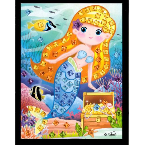 Mozaikový obrázek - Mořské víly - Cena : 25,- Kč s dph