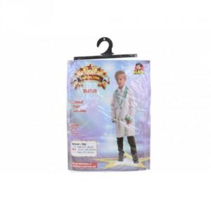 Šaty na karneval - doktor, 120 - 130 cm - Cena : 398,- Kč s dph