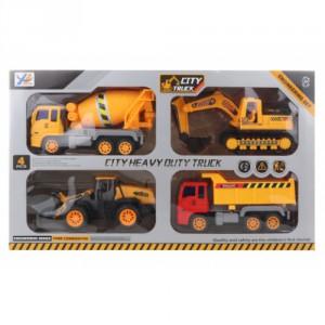Sada stavebních aut - Cena : 298,- Kč s dph