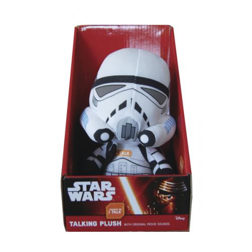 Star Wars: Mluvící plyš - Stormtrooper 22 cm - Cena : 62,- Kč s dph