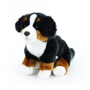 plyšový pes salašnický sedící, 23 cm - Cena : 287,- Kč s dph