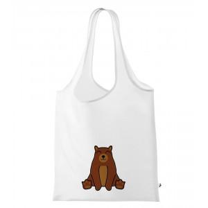 Nákupní taška Tučňák a jeho kamarádi - #9 medvěd hnědý - Cena : 149,- Kč s dph