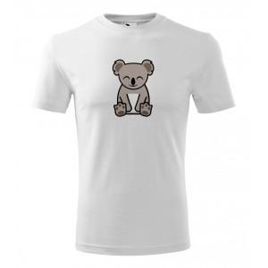 Pánské Tričko Classic New - Tučňák a jeho kamarádi - #14 koala medvídkovitý, vel. L - bílá - Cena : 129,- Kč s dph