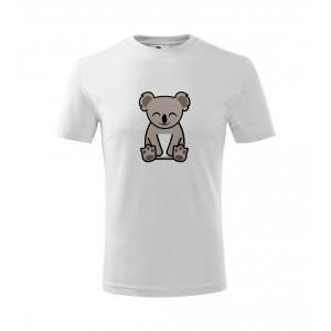 Dětské Tričko Classic New - Tučňák a jeho kamarádi - #14 koala medvídkovitý, vel. 6 let - bílá - Cena : 129,- Kč s dph