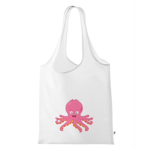 Nákupní taška Veselá zvířátka - Chobotnička - Cena : 149,- Kč s dph