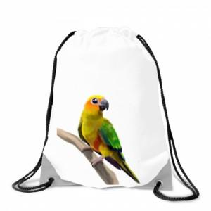 Batoh na záda Malovaná zvířátka - Papoušek - Cena : 129,- Kč s dph