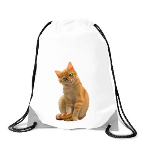 Batoh na záda Malovaná zvířátka - Kočička - Cena : 129,- Kč s dph