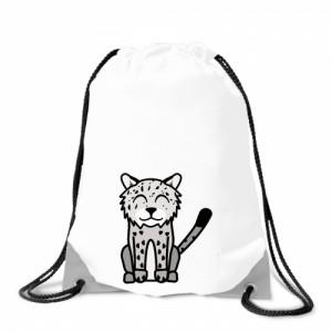 Batoh na záda Tučňák a jeho kamarádi - #20 levhart sněžný - Cena : 129,- Kč s dph