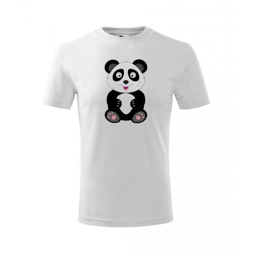 Dětské Tričko Classic New - Veselá zvířátka - Panda, vel. 12 let - bílá - Cena : 249,- Kč s dph