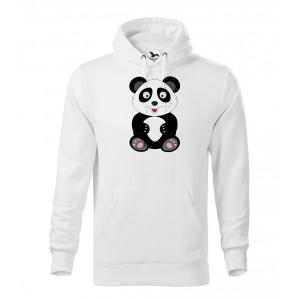 Pánská Mikina Cape - Veselá zvířátka - Panda, vel. 2XL - bílá - Cena : 649,- Kč s dph