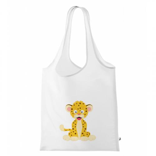 Nákupní taška Veselá zvířátka - Leopard - Cena : 149,- Kč s dph