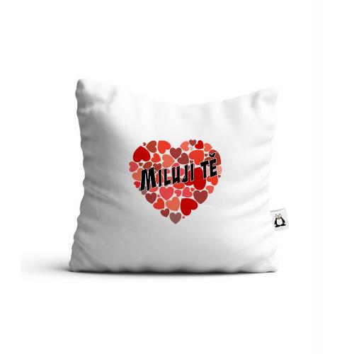 Polstář Valentýn - Miluji Tě #4 - Cena : 379,- Kč s dph